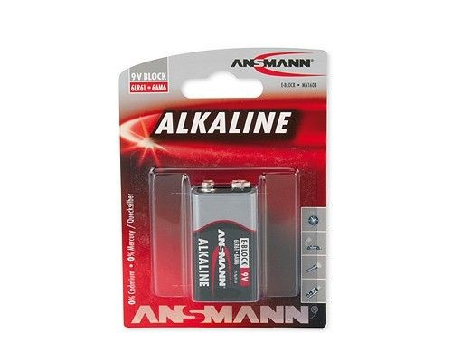 Ansmann Bateria alkali RED 1xE-blok (6LR61)
