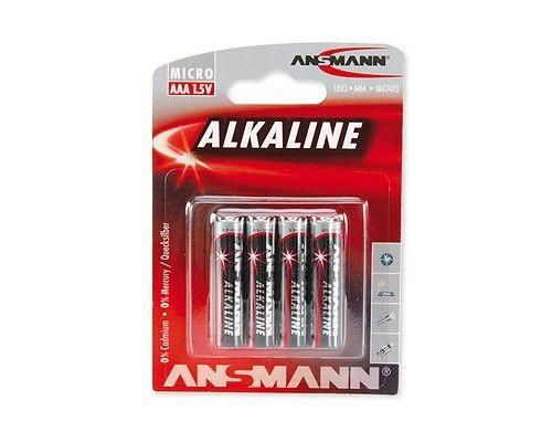 Ansmann Bateria alkali RED 4xAAA