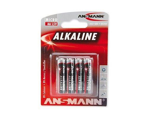 Ansmann Baterie alkaliczne RED 4xAA