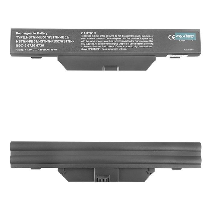 Qoltec Bateria do laptopa Long Life HP 6720 | 10.8V | 4400mA