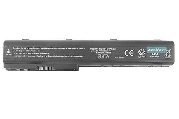 Qoltec Bateria f HP DV7/HDX18 4400mAh 14.4V