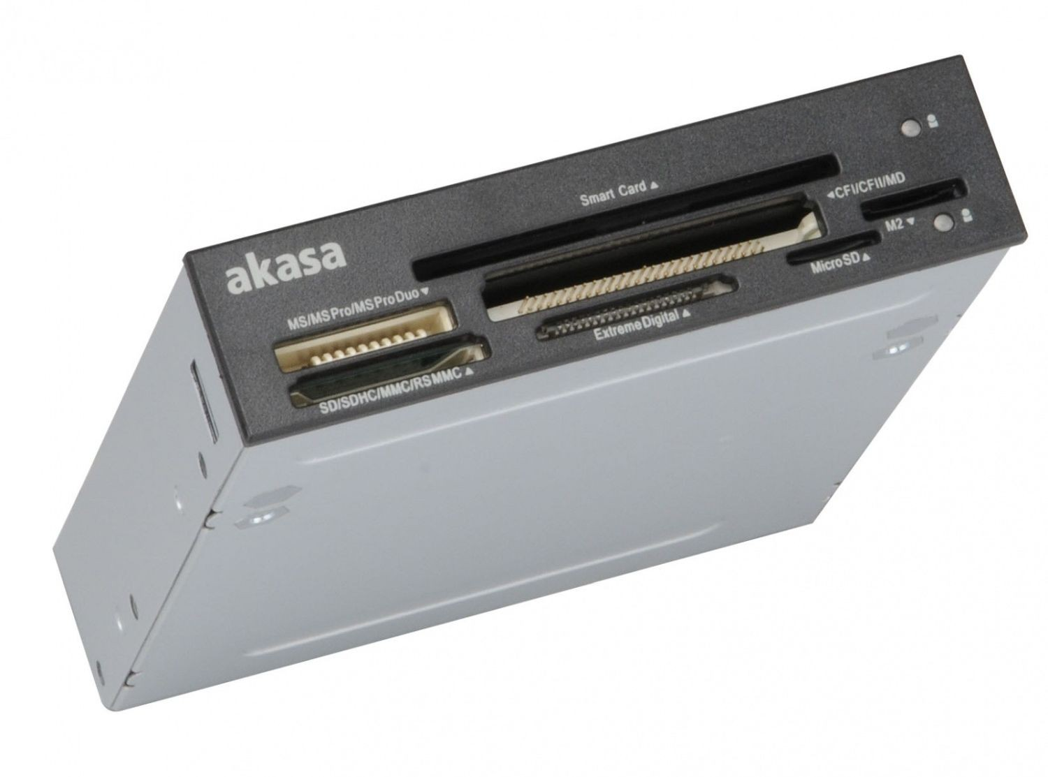 Akasa CZYTNIK KART ID i Smart Card Port AK-ICR-09