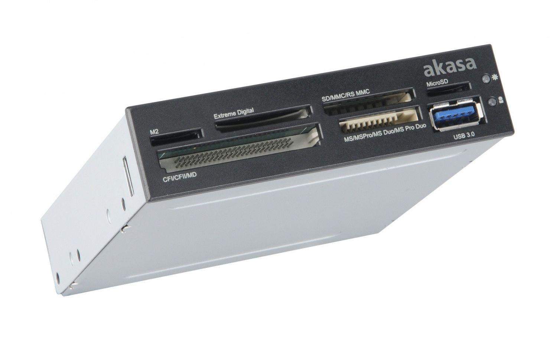 Akasa CZYTNIK KART USB 3.0 AK-ICR-14 CF/SD 6slot