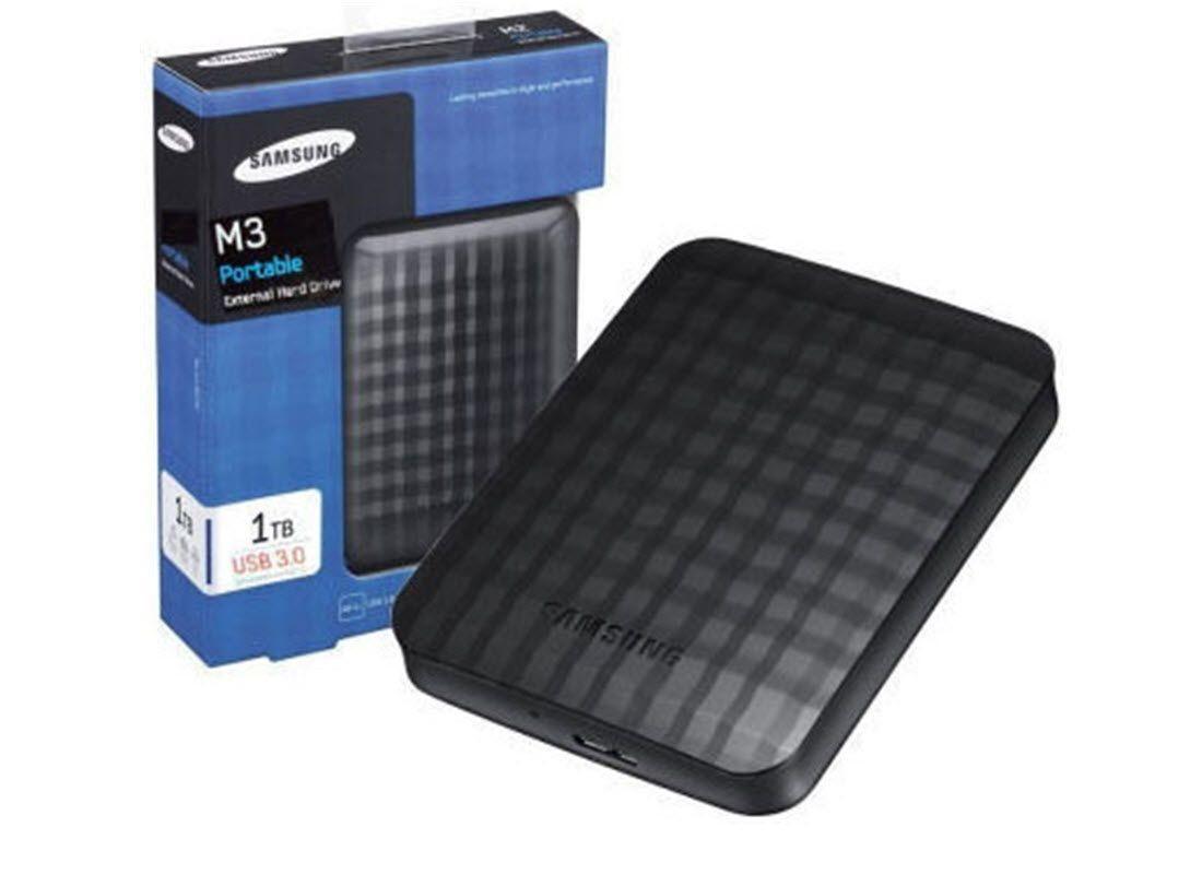 Seagate SAMSUNG M3 Portable HX-M101TCB/G 1TB HDD USB3.0 8MB cache 2,5inch extern RTL