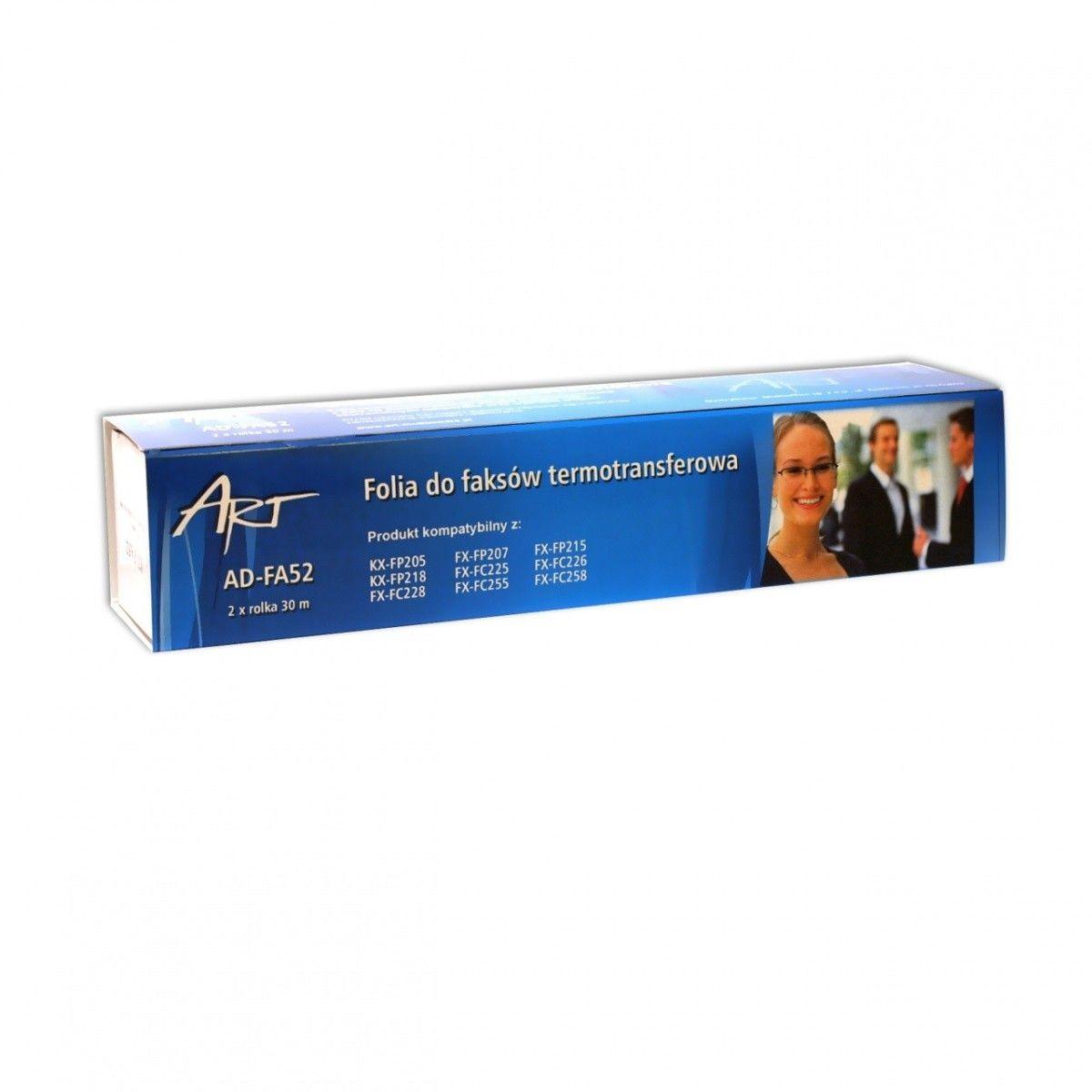 ART Folia FA52 do fax-u PANASONIC KX-FP205/6/7/8, KX-FC225