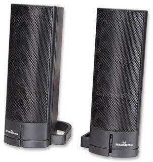 Manhattan Głośniki USB Soundbar, Seria 3775, Czarne