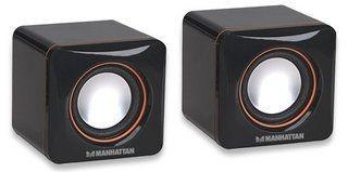 Manhattan Głośniki USB, Seria 2600, Czarne