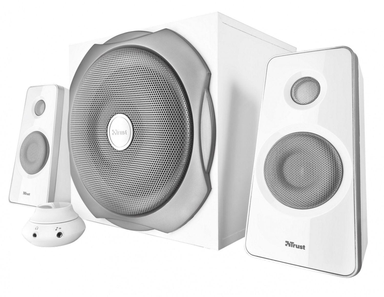 Trust głośniki Tytan 2.1 Subwoofer Speaker Set - white