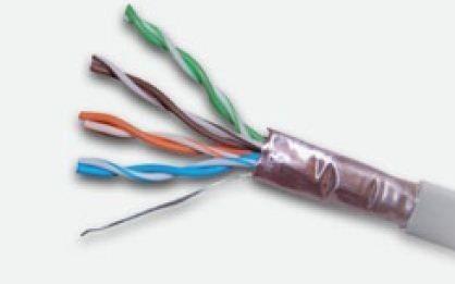 A-LAN FTP drut 4x2 kat 5e wew 305m PVC