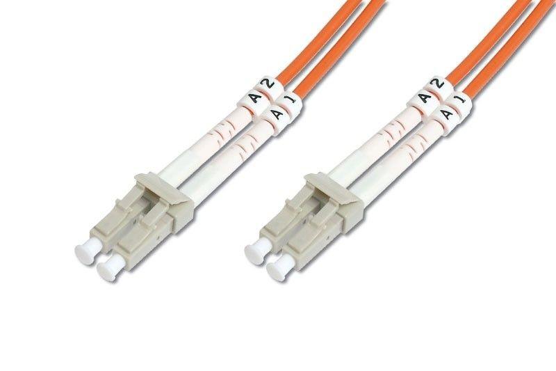 Assmann światłowód krosowy, duplex MM 50/125 OM2 LC-LC, 3m, 15 LGW