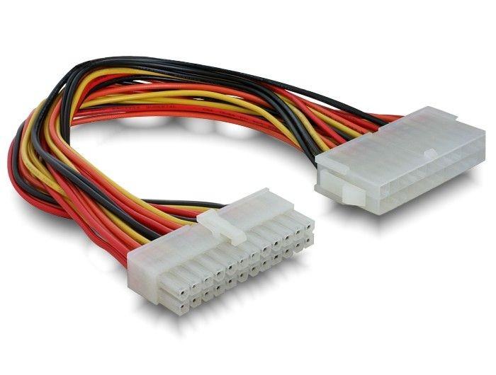 DeLOCK kabel przedłużacz zasilania ATX 24F/24M