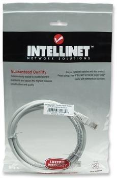 Intellinet Network Solutions Patch Cord RJ45, kat. 5e UTP, 2 m, biały, 100% miedź