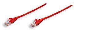 Intellinet Network Solutions patch cord RJ45, kat. 5e UTP, 50 cm, czerwony, 100% miedź