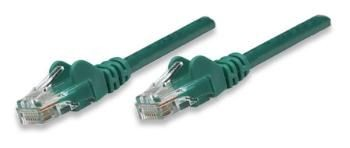 Intellinet Network Solutions patch Cord RJ45, kat. 5e, UTP, 50 cm, zielony, 100% miedź