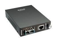 D-Link konwerter GigabitEthernet 1000BaseT (RJ45) - 1000BaseSX MM (SC-Duplex) 550m