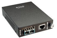 D-Link konwerter GigabitEthernet 1000BaseT (RJ45) - 1000BaseLX SM (SC-Duplex) 10km