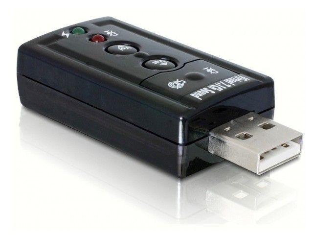 DeLOCK USB karta muzyczna/dźwiękowa 7.1 (wirtual) USB 2.0