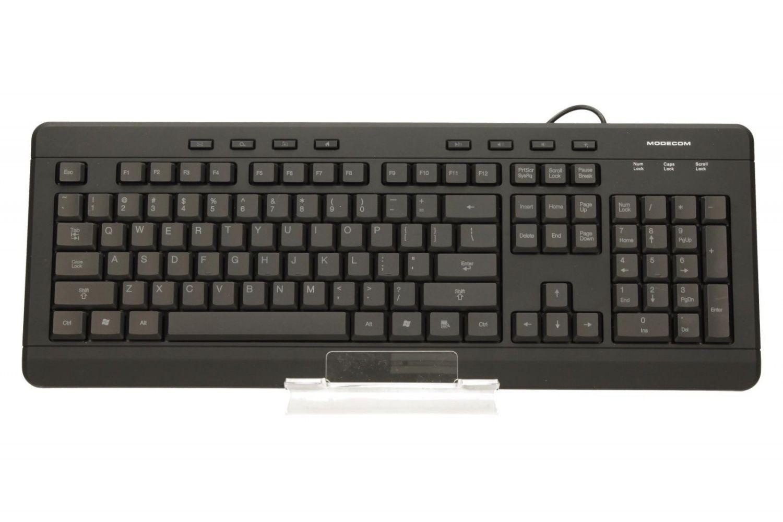 ModeCom Przewodowa klawiatura podświetlana MC-9006
