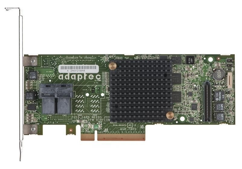 Adaptec KONTROLER RAID SAS/SATA 7805 6Gb 8p KIT