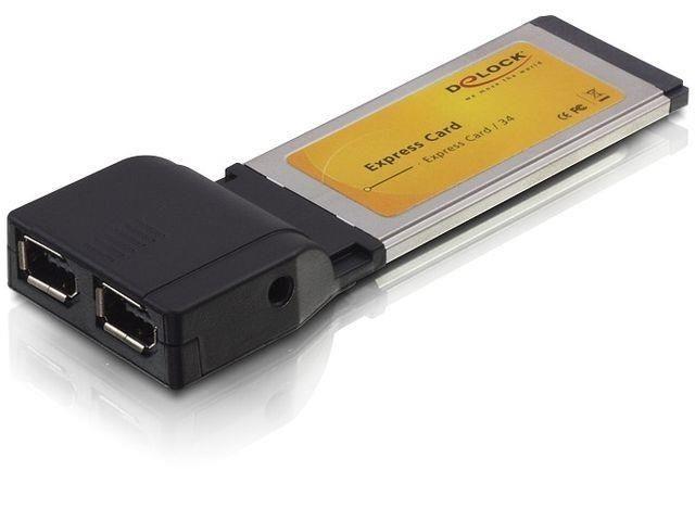 DeLOCK karta express card -> 2 x FireWire A