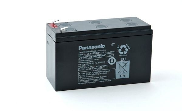 CyberPower Baterie - Panasonic LC-P127R2P1 (12V/7,2Ah - Faston 250)