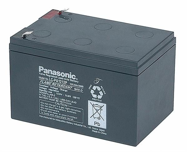 CyberPower Baterie - Panasonic LC-PA1212P1 (12V/12Ah - Faston 250)