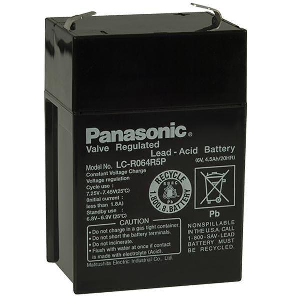 CyberPower Baterie - Panasonic LC-R064R5P (6V/4,5Ah - Faston 187)