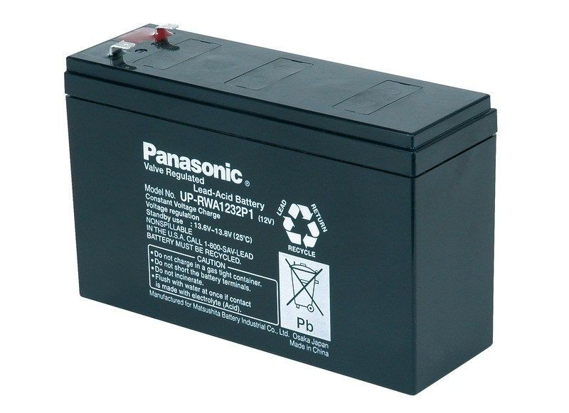 CyberPower Baterie - Panasonic UP-RWA1232P2 (12V/7Ah-32W/čl. - Faston 250)