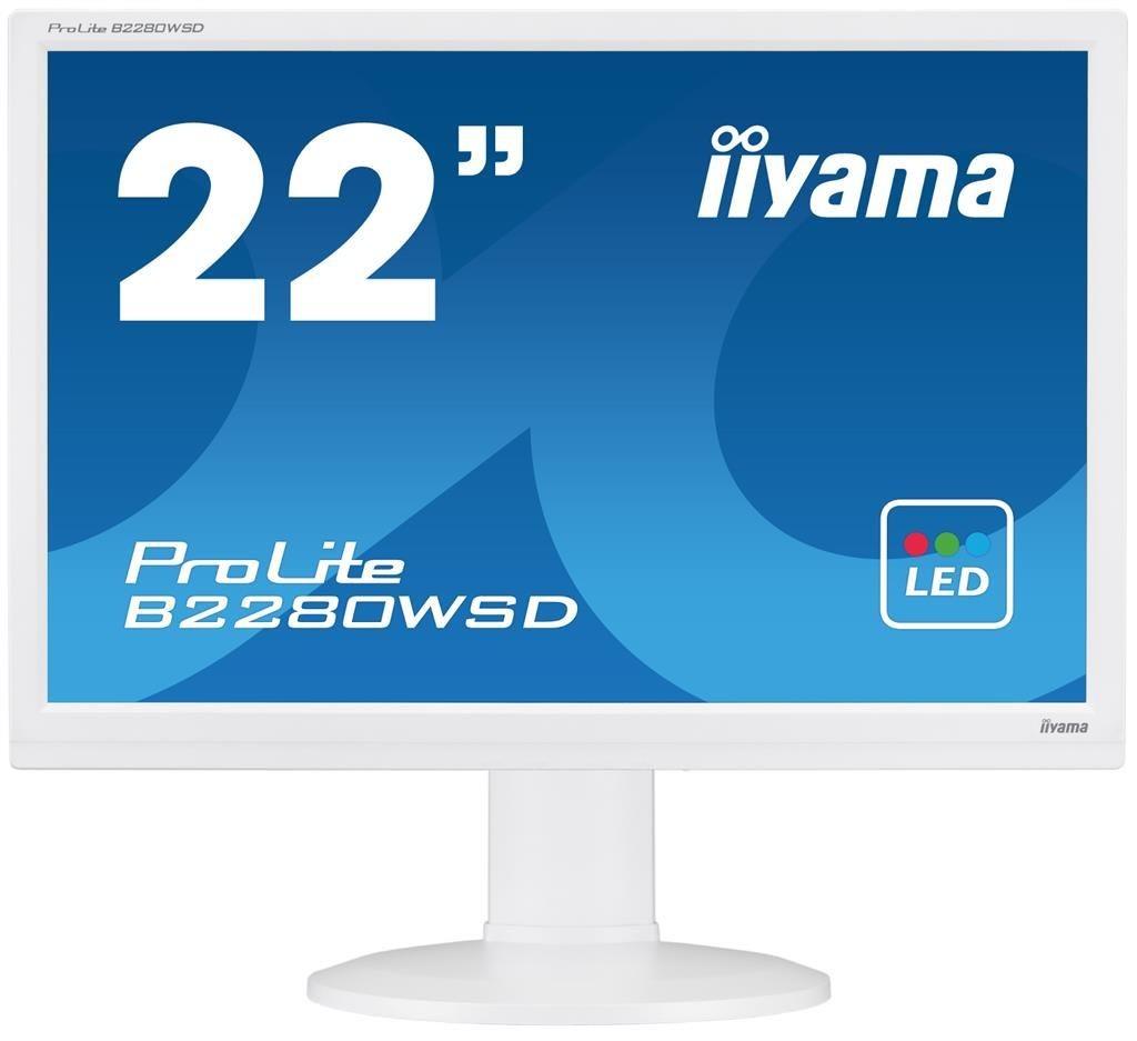iiyama Monitor B2280WSD-W1 22inch, TN, 1680x1050, VGA, DVI-D, głośniki