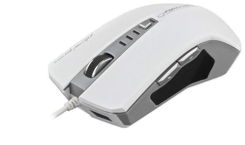 Esperanza Przewodowa Mysz DRAGON EM122W USB| 800/1600/2400 DPI |6D|Optyczna