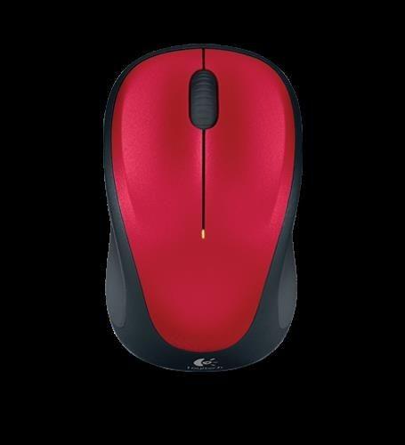 Logitech Mysz Optyczna Bezprzew. Wireless Mouse M235 red