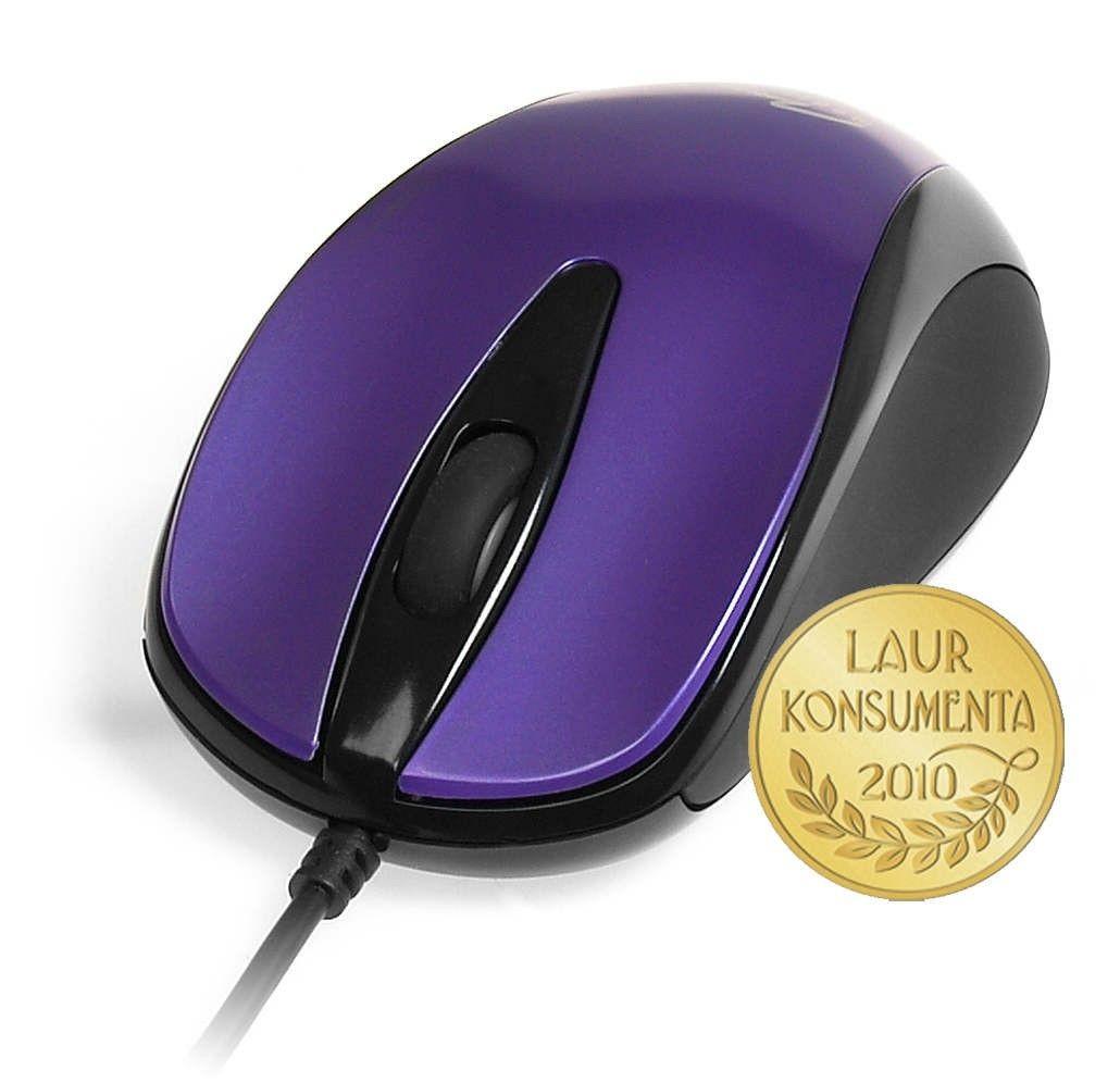 Media-Tech PLANO - Myszka optyczna 800 cpi, 3 przyciski + rolka, interfejs USB