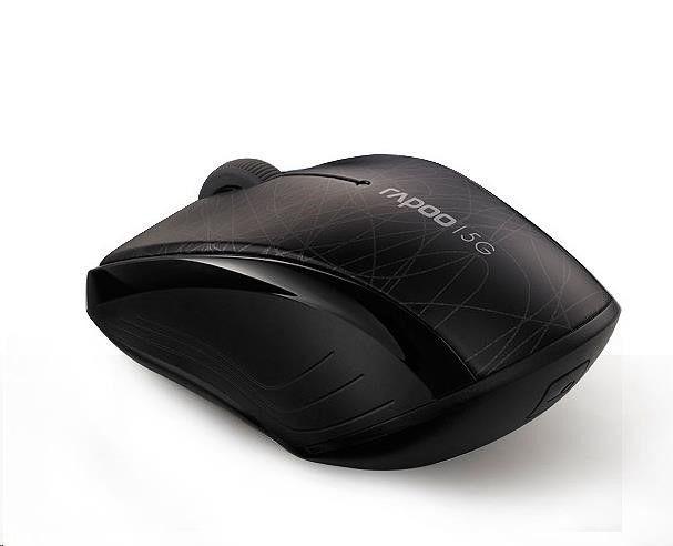 Rapoo Mysz bezprzewodowa Rapoo 5G optyczna 3100P czarna