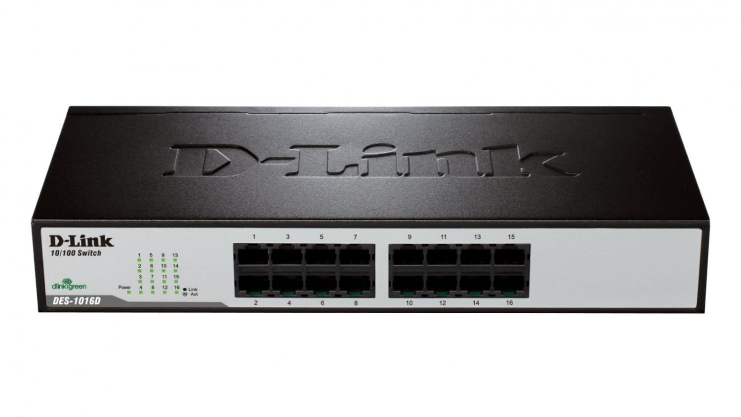 D-Link Express EtherNetwork Desktop Switch 16x10/100