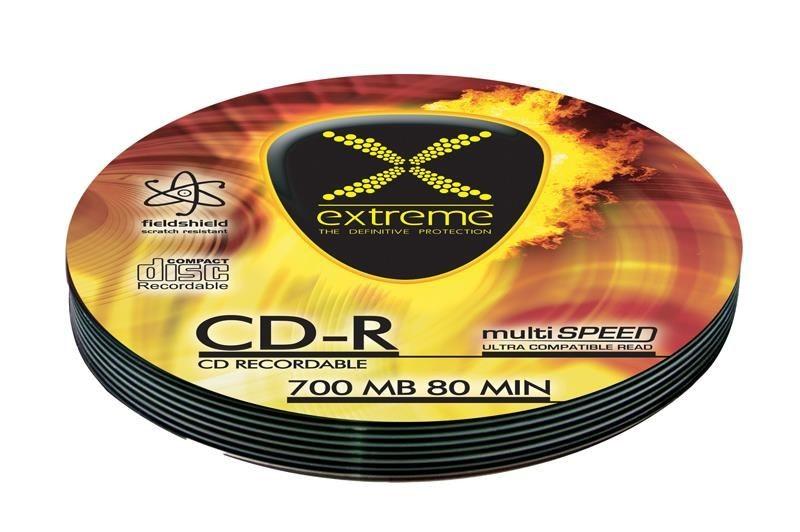 Esperanza CD-R EXTREME [ Soft Pack 10   700MB   52x   Silver ]