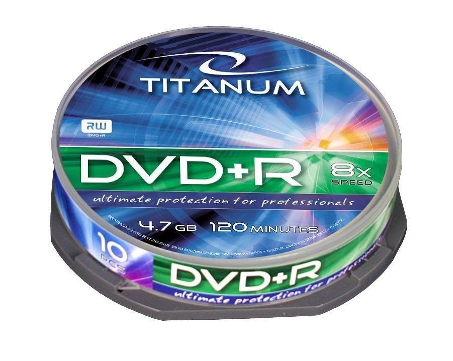 Esperanza DVD+R TITANUM [ cake box 10 | 4.7GB | 8x ]