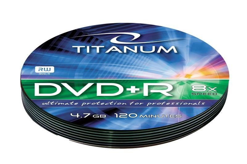 Esperanza DVD+R TITANUM [ soft pack 10 | 4.7GB | 8x ]