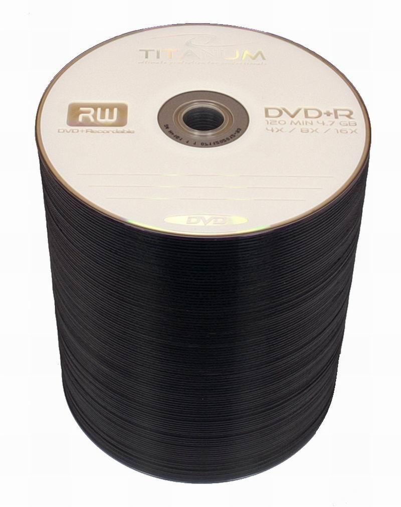 Esperanza DVD+R TITANUM [ spindle 100 | 4.7GB | 16x ]