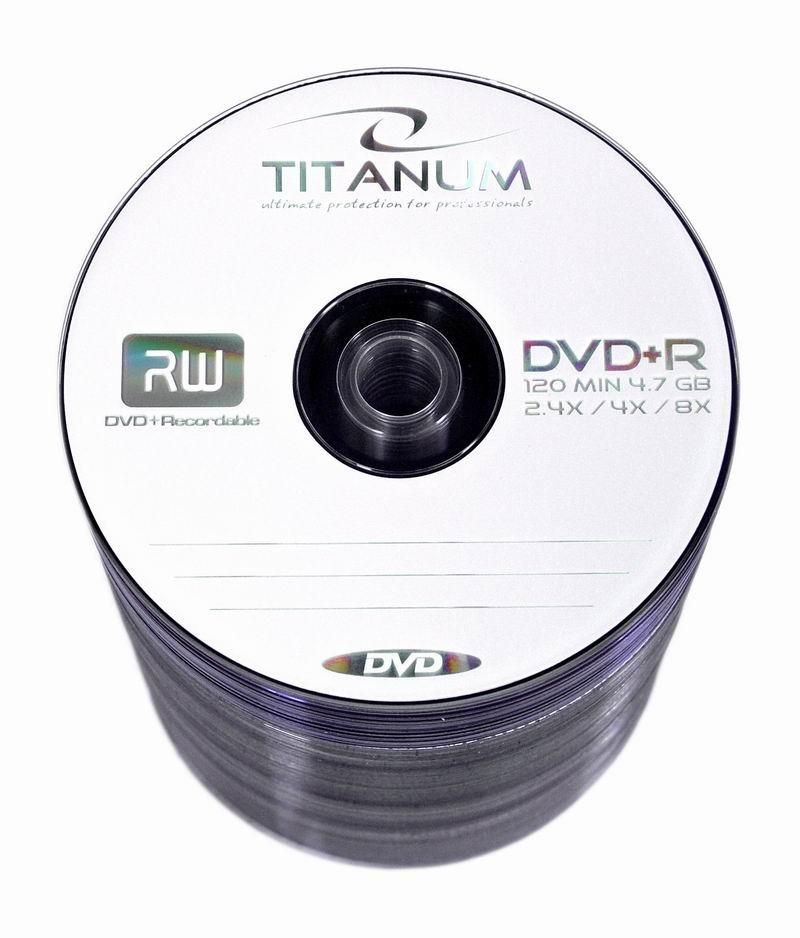 Esperanza DVD+R TITANUM [ spindle 100 | 4.7GB | 8x ]