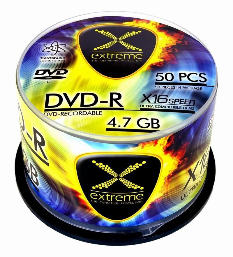 Esperanza DVD-R Extreme [ cake box 50 | 4.7GB | 16x ]