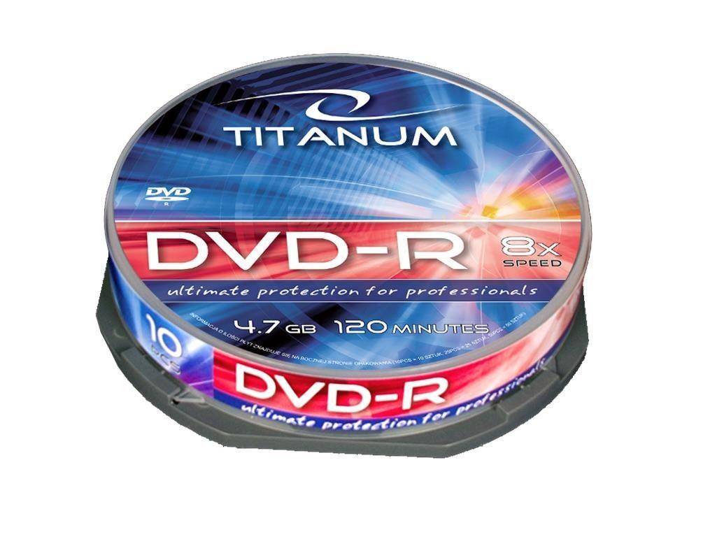 Esperanza DVD-R TITANUM [ cake box 10 | 4.7GB | 8x ]
