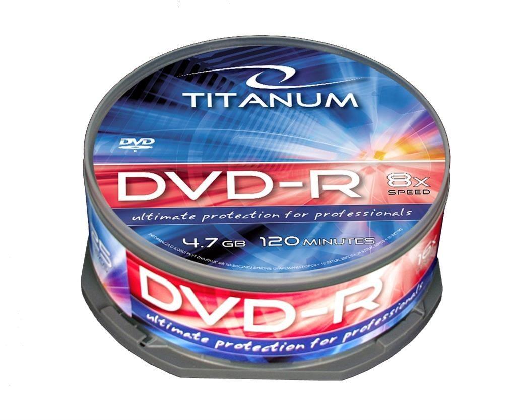 Esperanza DVD-R TITANUM [ cake box 25 | 4.7GB | 8x ]