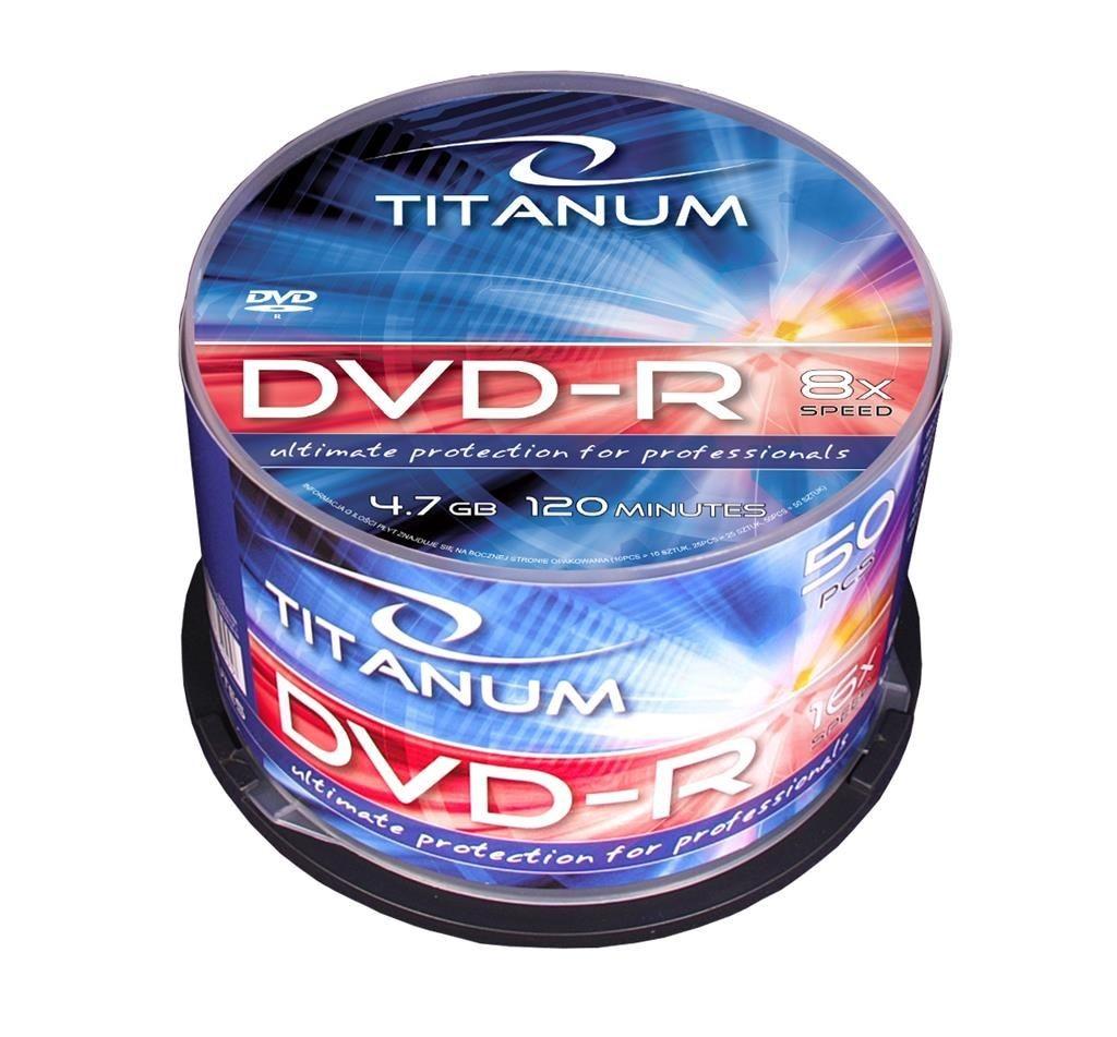 Esperanza DVD-R TITANUM [ cake box 50 | 4.7GB | 8x ]