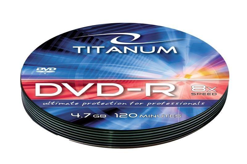 Esperanza DVD-R TITANUM [ soft pack 10 | 4.7GB | 8x ]