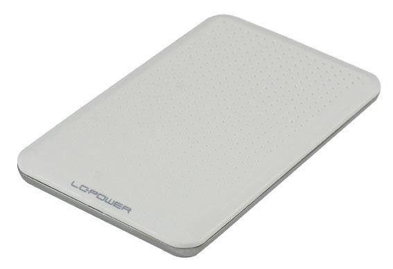 LC-Power OBUDOWA 2,5' LC-25WU3 USB 3.0 SATA-600 BIALA