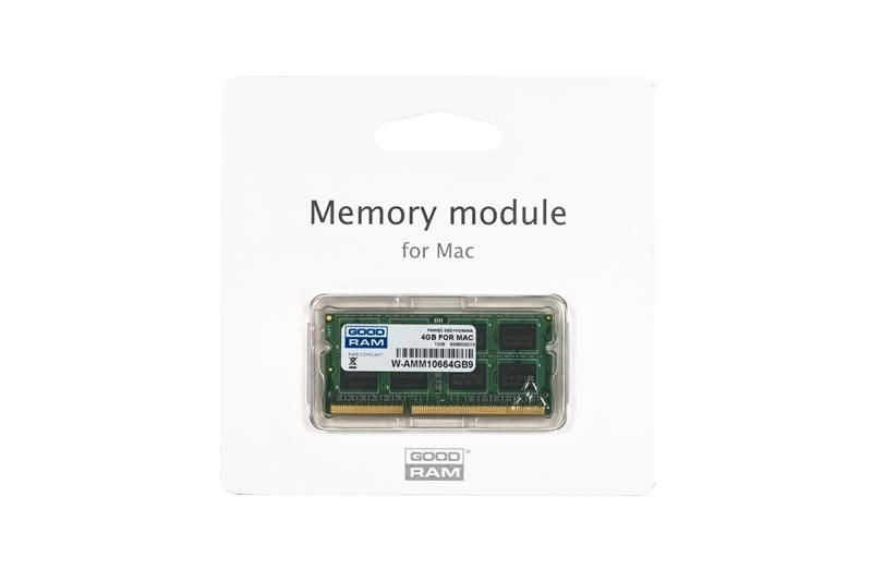 GoodRam DDR3 4GB/1066 for APPLE SODIMM (iMac, MacBook, Macbook Pro, Mac Mini)