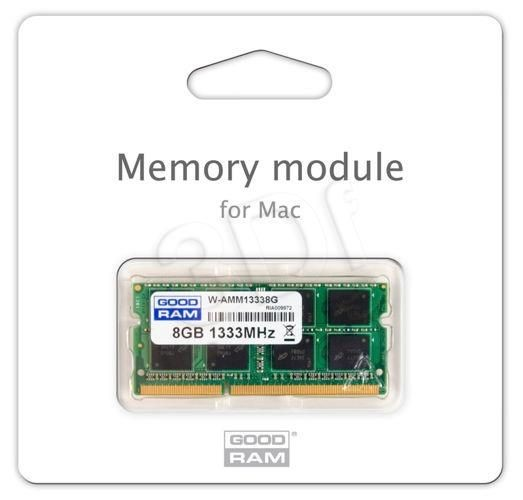 GoodRam DDR3 8GB/1333 for APPLE SODIMM (iMac, MacBook, Macbook Pro, Mac Mini)