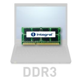 Integral 8GB DDR3-1333 SoDIMM CL9 DUAL RANK 1.5V
