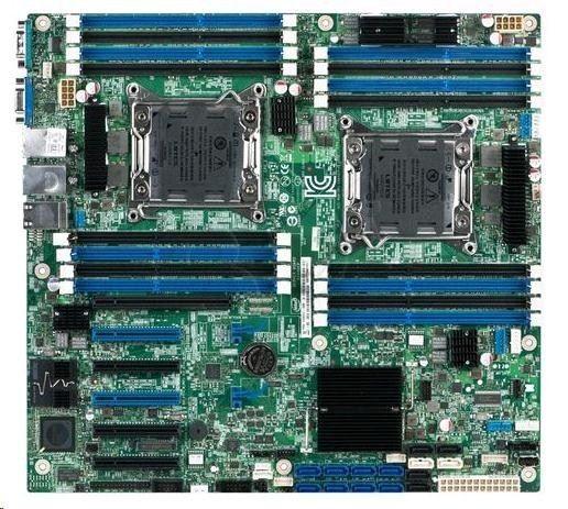 Intel Płyta serwerowa DBS2600CP4 916041 ( LGA 2011 ; 16x DDR3 DIMM )