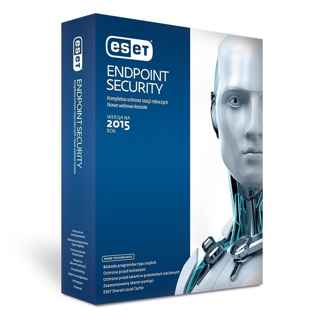 Eset Endpoint Antivirus NOD32 Client 10U - 2Lata przedłużenie